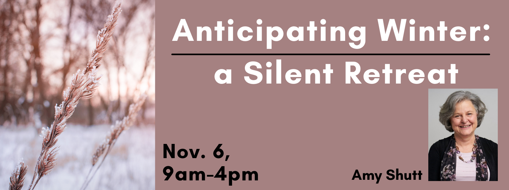 Anticipating Winter: Silent Retreat at The Wittel Farm